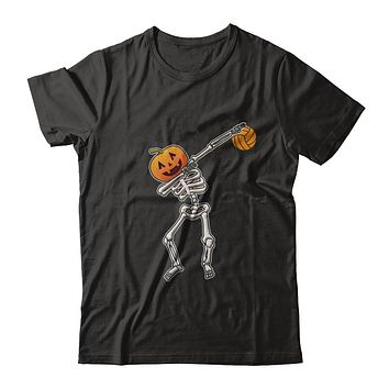 Halloween Dabbing Skeleton Volleyball