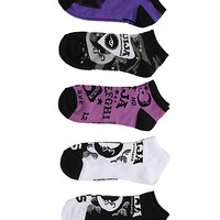Ouija Board No-Show Socks 5 Pair | Hot Topic