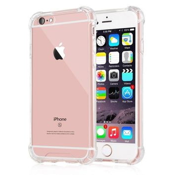 iPhone 6 Plus Case,iPhone 6s Plus case, Yoyamo iPhone 6s Plus Crystal Clear Case Cover Shock Absorption Case with Soft TPU Gel Bumper for iPhone 6s Plus,iPhone 6 Plus