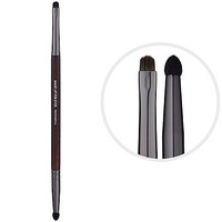 204 Double-ended Shader & Smudger Brush - MAKE UP FOR EVER | Sephora