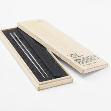 Metaphys - uqu Portable Titanium Chopsticks - K11 DesignStore | Hong Kong