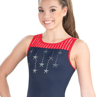 Stars & Stripes Tank Leotard from GK Elite