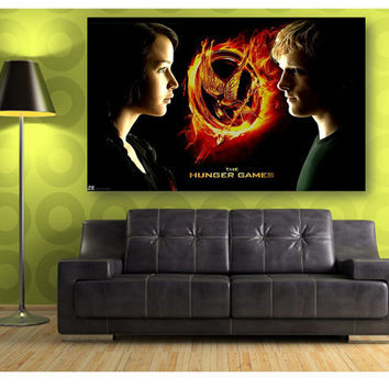 ON Sale The Hunger Games Silk Canvas Wall Posters HD Modern Home Decor