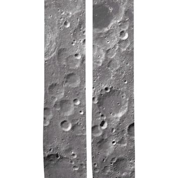 Moon Surface Knee-High Socks