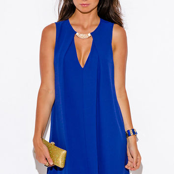 No Surrender Blue Swing Dress