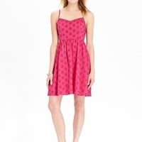Old Navy Womens Eyelet Sundresses
