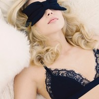 Wildfox Logo Bow Eye Mask