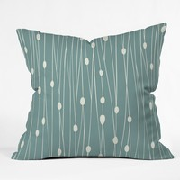 Heather Dutton Entangled Throw Pillow