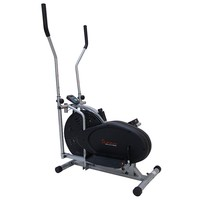 Sunny Health & Fitness Air Elliptical Trainer (Grey)