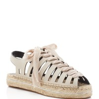 Rebecca Minkoff Gemma Lace Up Platform Espadrille Sandals | Bloomingdales's