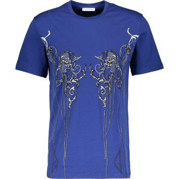 Versace Collection V800471S VJ00035 Dark Blue V428 T-Shirt Dark Blue
