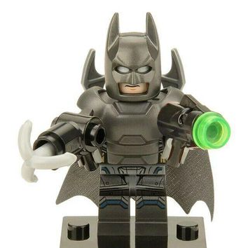 Batman Dark Knight gift Christmas 20Pcs Building Blocks Super Heroes Pirates Batman Lex Luthor Deathstroke Bricks Set Model Collection Toys for children XH 226 AT_71_6