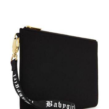 Babygirl Graphic Clutch