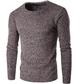 Sweaters For Men Slim Fit Vintage Men Cashmere Sweaters Pullover Men Knitted Sweater