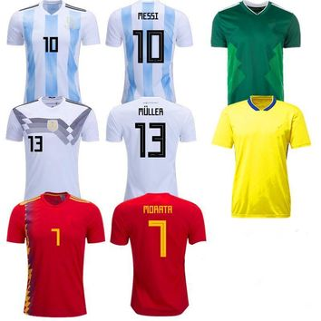World Cup Soccer 2018 Jersey's
