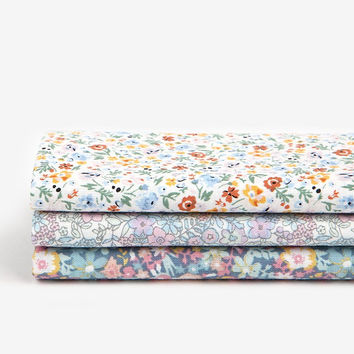"Quarter Fabric Pack - Cotton, Dailylike ""A Tiny Flower"""