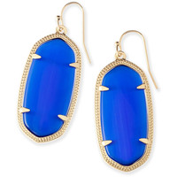 Kendra Scott: Elle Earrings In Cobalt