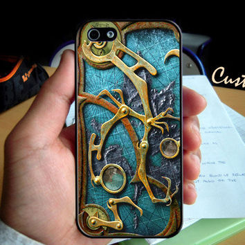 Steampunk  - Photo Hard Case design for iPhone 4/4s Case, iPhone 5 Case, Black or White ( Choose Option )