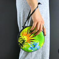The Neoprene Circle Clutch