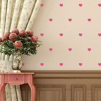 Hearts Mini-Pack Wall Decals