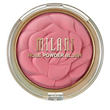 Milani Rose Powder Blush, Tea Rose 0.60 oz