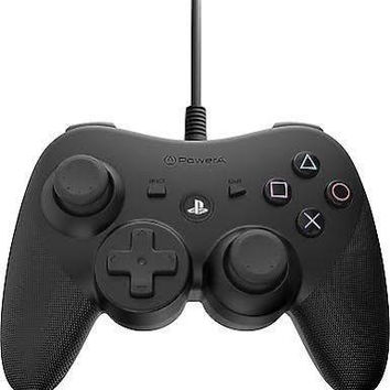 Power A Wired Controller for Playstation 3 - Black