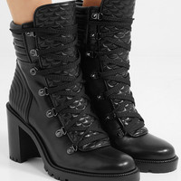 Christian Louboutin - Mad 70 spiked quilted leather ankle boots