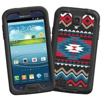 """Folk Tribal """"Protective Decal Skin"""" for LifeProof fre/nuud Samsung Galaxy S4 Case"""