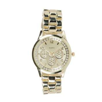 Collezio Juniors Jeweled Boyfriend Watch at Von Maur