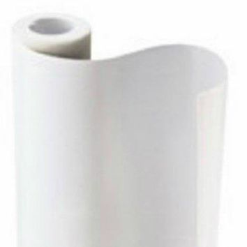 "Con-Tact® Brand 05F-C5400-12 Light Tack Shelf Liner, 20"" x 5', Matte White"