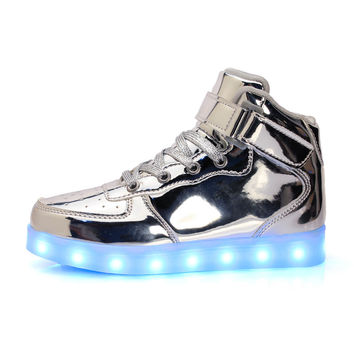Rechargeable LED Light Kids Shoes
