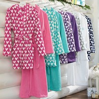Plush Sweetheart Short Robe