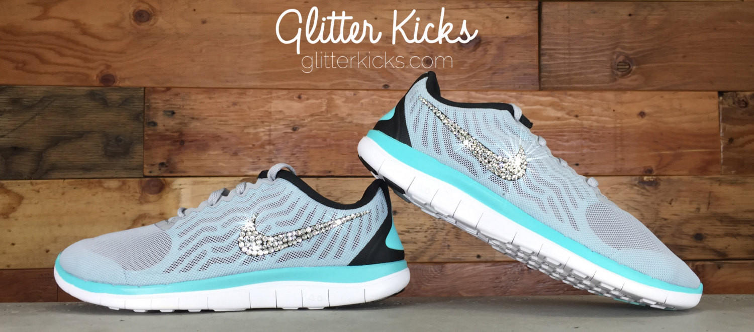 Nike Free 4.0 V5 - Crystallized Swarovski from Glitter Kicks 96aeb010bf