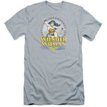 Dc - Star Of Paradise Island Premium Canvas Adult Slim Fit 30/1 Shirt Officially Licensed T-Shirt