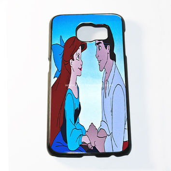 Romantic Disney Princess Ariel And Eric Samsung Galaxy S6 and S6 Edge Case