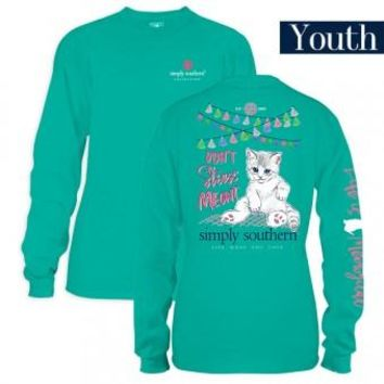 Youth Simply Southern Long Sleeve Tee - Meowt
