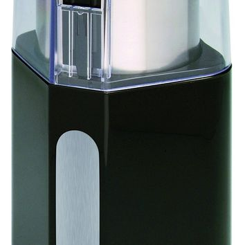 Epica Electric Coffee Grinder & Spice Grinder -Stainless Steel Blades and Removable Grinding Cup for Easy Pouring- Strongest Motor on the Market 250 Watt For Fastest and Most Efficient Grinding Black