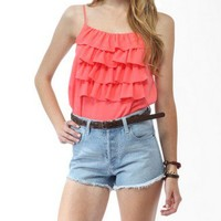 Ruffle Front Cami