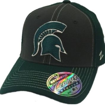 Michigan State Spartans Zephyr Powerhouse Fit Hat