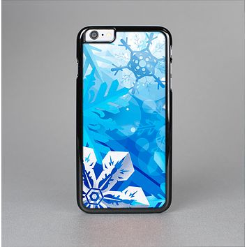 The Winter Abstract Blue Skin-Sert Case for the Apple iPhone 6 Plus