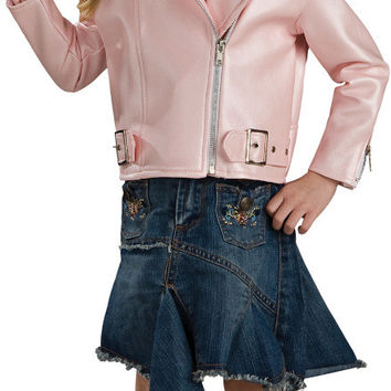 infant costume: harley davidson pink jacket