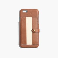 Leather Wallet Case for iPhone® 6 in Paintstripe