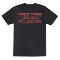 HILLARY CLINTON THINGS PARODY (RED) T-SHIRT