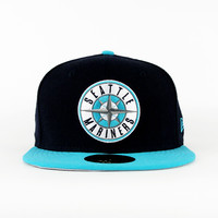 Seattle Mariners Navy & Chlorine Blue (Gray Under) 59fifty