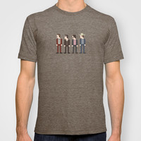 Anchorman 8-Bit T-shirt by brentonpowelldesign