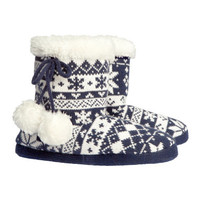 Slipper Boots - from H&M