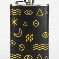 Vegan Leather Wrapped Icon Flask - Urban Outfitters