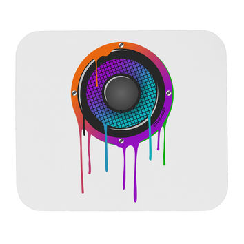 Paint Drips Speaker Mousepad