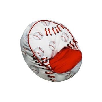 Komfy Kings, Inc 31096 Baseball Bean Chair