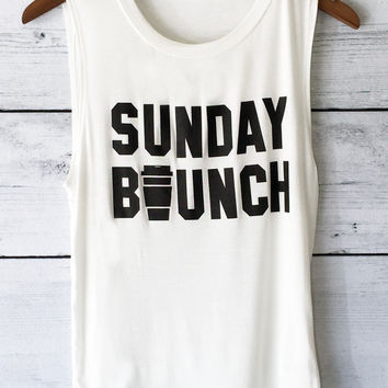 Sunday Brunch T Shirt for Women
